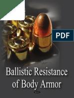 Ballistic Resistance of Body Armor.pdf