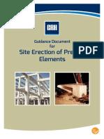 Site Erection of Precast Elements