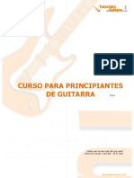 Curso principiantes en guitarra