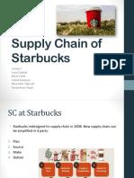 Supply chain Starbucks