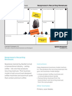 Business Model Canvas Cards