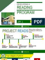 Reading Program Format
