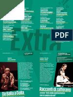 Teatro Manzoni Cartella Stampa Rassegna Extra Stag. 19-20