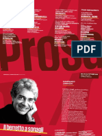 Teatro Manzoni Cartella Stampa Rassegna Prosa Stag. 19-20
