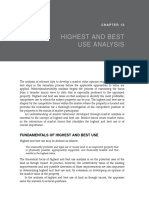 Highest and Best Use Analysis