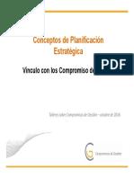 Conceptos y Vinculo Cg
