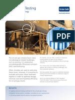 Intertek Chemical Testing - Oilfield Microbiology Web Quality