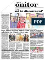 CBCP Monitor - September Vol23 No19