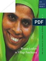 Women Leaders in Village Panchayats