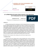 AN APPROXIMATE SOLUTION FOR PLATES RESTING ON WINKLER FOUNDATION.pdf