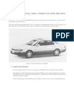 History of Camry Prominent