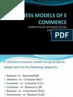Business Models of e Commerce 1