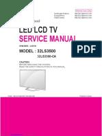 Led tv lg 32ls3500