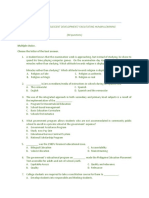 Child Adolescence & Facilitating Learning- Practice Test (60 Items)