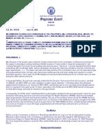 ITF vs Comelec 420 SCRA 438 January 21 2004