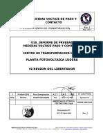 019-IT-VpVc-001 Informe Med Voltaje de Paso y Contacto PFV Luders Rev 0