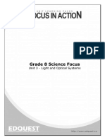 Science 8 Unit 3 Light and Optics Final Review Booklet