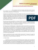 Principios Rectores Del Juicio Penal Acusatorio Adversarial.