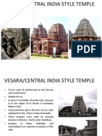 5.Vesara - Central Indian Style Temple