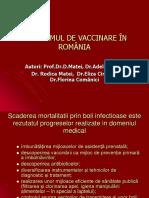 Programul Vaccinare in Romania