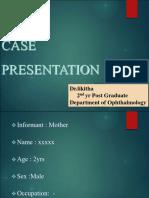 01.06.2017-Congenital Cataract Case Presentation-Dr.likitha