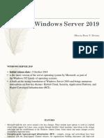 Report Windows Server 2019