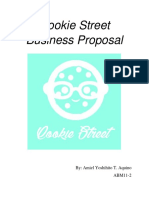 Cookie Street Business Proposal