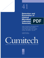 Cumitech 41 - Detection and Prevention of Clinical Microbiology Laboratory-Associated Errors