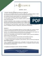 Cp Iuris - Civil IV - Questoes Comentadas