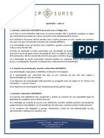 Cp Iuris - Civil IV - Questoes