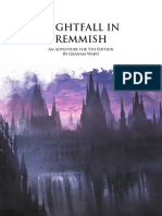 Darkplane - Nightfall in Remmish a One-Shot Adventure