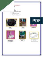 materiales y procedimientos vino