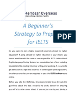 Top 4 Beginner's Strategy to Prepare for IELTS in Pune, Lucknow, Jaipur