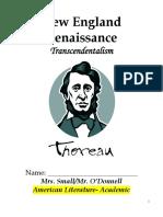 Transcendentalism Packet _A