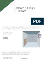 Energy Problemset
