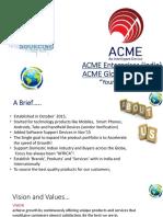 ACME Enterprises Global 2019