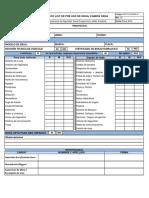 FR-9110-SSOMA-21 Check List Pre Uso de Grua - Camión Grua
