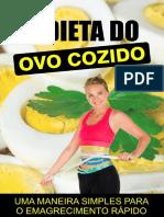 Dieta Do Ovo Cozido