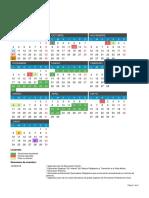 Calendario Escolar Cyl. 2018-2019