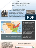 slavery divides the nation ppt