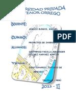 Cuestionario de Proyecto de Inversion