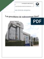 310183679-Les-Procedures-de-Redressement-Fiscal.docx