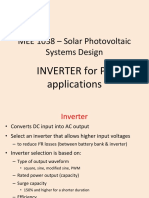 Inverters for Pv