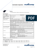 Capacitor selection technical note