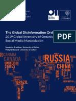 Έρευνα Oxford για την παραπληροφόρηση μέσω Internet