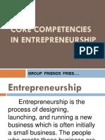1.2 Core Competencies in Entrepreneurship