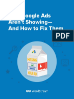 Google Ads Not Showing Guide