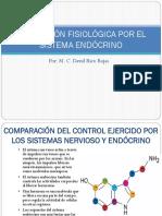 4. Regulación Fisiológica Por El Sistema Endócrino