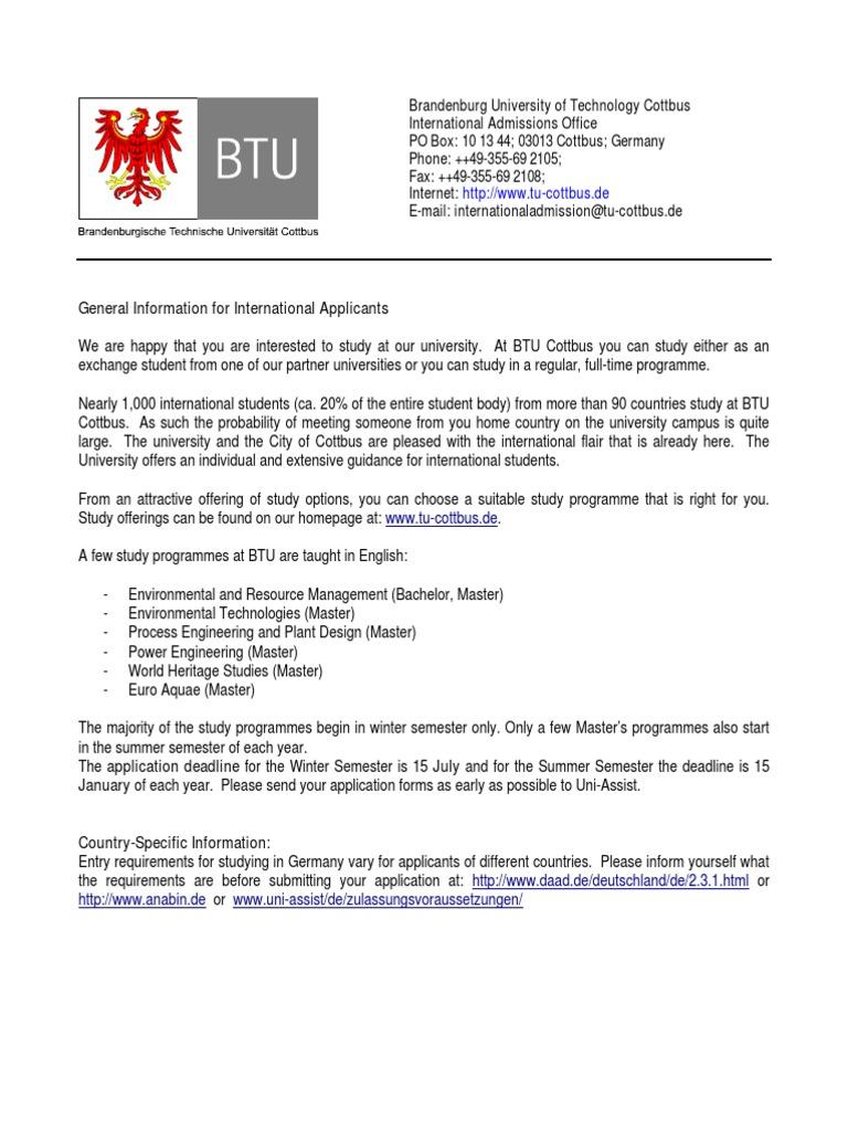 Cottbus General Information | Notary Public | Vocational