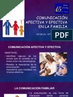 comunicación afectiva y efectiva en la familia